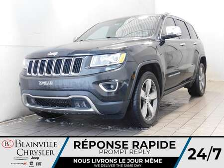2015 Jeep Grand Cherokee Limited 4X4 * SIEGES CHAUFFANTS * CAM RECUL for Sale  - BC-21581A  - Blainville Chrysler
