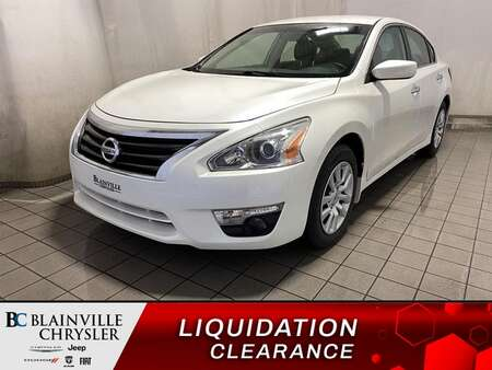 2014 Nissan Altima 2.5 * CRUISE * A/C * AUTOMATIQUE for Sale  - BC-M1915  - Blainville Chrysler