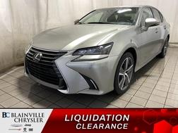 2017 Lexus GS GS 350 AWD * GPS * TOIT * CAM RECUL * BLUETOOTH *  - BC-P1952  - Blainville Chrysler