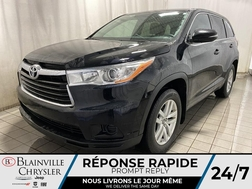 2016 Toyota Highlander LE AWD * 8 PASSAGERS * CAM RECUL * BLUETOOTH * A/C  - BC-M1905  - Blainville Chrysler