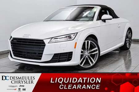 2016 Audi TT 2.0T ROADSTER* VIRTUAL COCKPIT * INTÉRIEUR COGNAC* for Sale  - DC-L2127  - Desmeules Chrysler