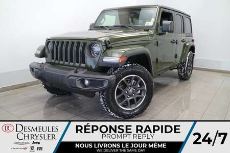 2021 Jeep Wrangler 2L T UNLIMITED SPORT 80E ANN * NAVIGATION * CAM * for Sale  - DC-21297  - Desmeules Chrysler