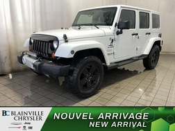 2012 Jeep Wrangler Unlimited 4WD * SIEGES CHAUFFANTS * CRUISE * A/C  - BC-D2018A  - Desmeules Chrysler