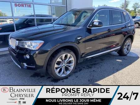 2016 BMW X3 XDRIVE 28D * NAVIGATION * TOIT PANORAMIQUE * for Sale  - BC-S1775  - Desmeules Chrysler