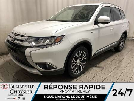 2017 Mitsubishi Outlander GT * CRUISE ADAPTATIF * CAM RECUL * BLUETOOTH * for Sale  - BC-20574B  - Blainville Chrysler
