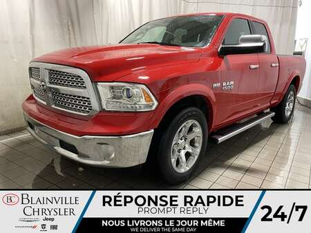2017 Ram 1500 LARAMIE * 6 PASSAGERS * CUIR  * CAMERA RECUL * for Sale  - BC-P1897B  - Blainville Chrysler