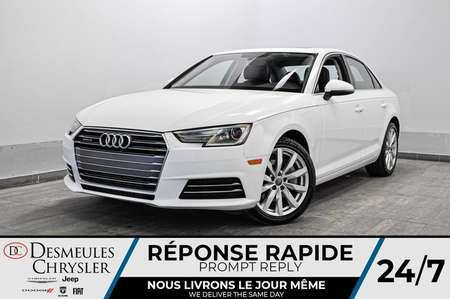 2017 Audi A-4 2.0 Komfort * SIEGES ET VOLANT CHAUFFANTS * GPS * for Sale  - DC-S2171  - Blainville Chrysler