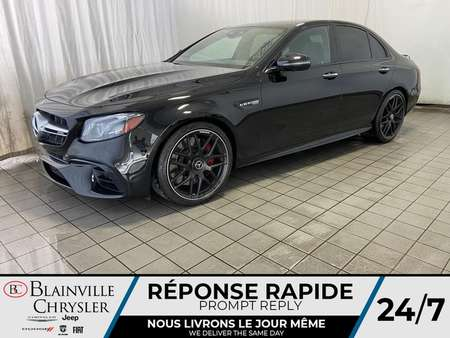 2018 Mercedes-Benz E-Class AMG E 63 S * AMG NIGHT PACKAGE * AMG DRIVER for Sale  - BC-LUDO007  - Blainville Chrysler
