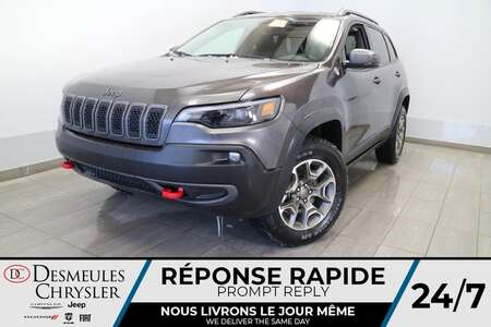 2021 Jeep Cherokee Trailhawk 4X4* NAVIGATION * TOIT OUVRANT * CUIR for Sale  - DC-21234  - Desmeules Chrysler