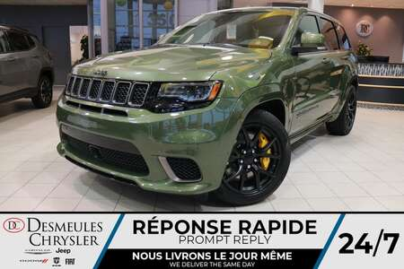 2021 Jeep Grand Cherokee Trackhawk 4X4 SUPERCHARGED 6.2L * 707 HP WOW * NAV for Sale  - DC-21447  - Blainville Chrysler
