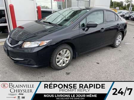 2015 Honda Civic DX * ECONOMIQUE * PROPRE * for Sale  - BC-M1838  - Blainville Chrysler