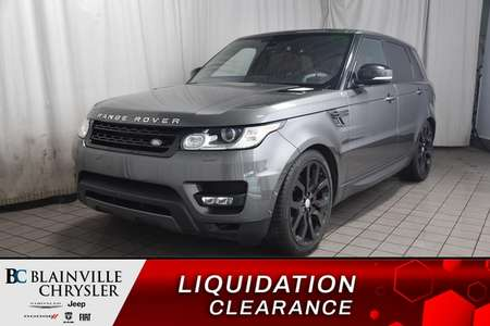 2016 Land Rover Range Rover Supercharged * HEAD UP DISPLAY * CAMERA RECUL * for Sale  - BC-P1648  - Desmeules Chrysler