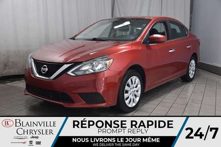 2017 Nissan Sentra SV * CAMERA RECUL * BLUETOOTH * PUSH TO START for Sale  - BC-P1661  - Desmeules Chrysler