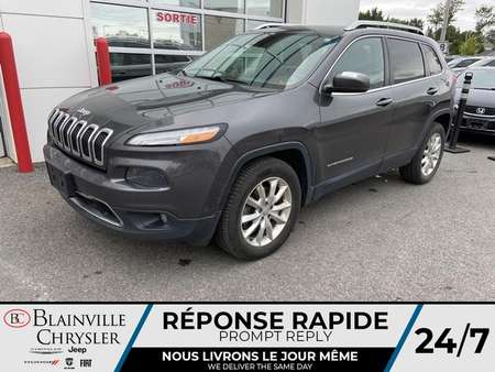 2015 Jeep Cherokee LIMITED * TOIT PANORAMIQUE * CUIR * CRUISE for Sale  - BC-20489A  - Blainville Chrysler
