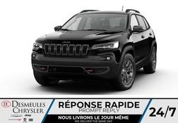 2021 Jeep Cherokee Trailhawk 4X4 * UCONNECT 8.4 PO * NAVIGATION* CUIR  - DC-C48056174  - Blainville Chrysler