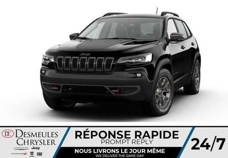 2021 Jeep Cherokee Trailhawk 4X4 * UCONNECT 8.4 PO * NAVIGATION* CUIR for Sale  - DC-C48056174  - Desmeules Chrysler