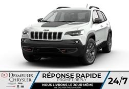 2021 Jeep Cherokee Trailhawk 4X4 * UCONNECT 8.4 PO * NAVIGATION* CUIR  - DC-C48056168  - Blainville Chrysler