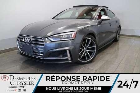 2018 Audi S5 Sportback TECNIK * QUATTRO * NAV *TOIT OUVRANT * CUIR ROUGE for Sale  - DC-E2489  - Blainville Chrysler