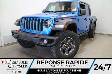 2021 Jeep Gladiator Rubicon 4X4 * NAVIGATION * UCONNECT 8.4 PO *CRUISE for Sale  - DC-21805  - Desmeules Chrysler