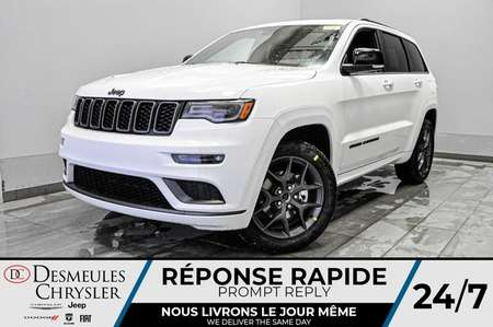 2020 Jeep Grand Cherokee Limited X+ UCONNECT + WIFI + TOIT OUV *150$/SEM for Sale  - DC-20285  - Desmeules Chrysler