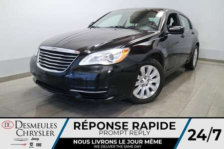2013 Chrysler 200 LX *  2.4L * AIR CLIMATISE * CRUISE * PRISE AUX * for Sale  - DC-S2561  - Blainville Chrysler