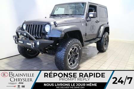 2016 Jeep Wrangler WILLYS * BLUETOOTH * CRUISE * A/C * MANUEL for Sale  - BC-21305A  - Blainville Chrysler