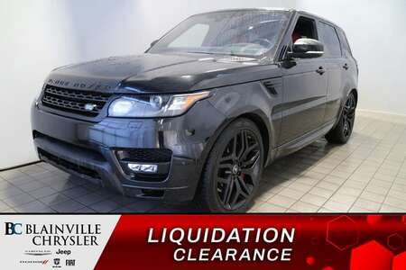 2017 Land Rover Range Rover SPORT * DYNAMIC * CUIR ROUGE * GPS * PANORAMIQUE for Sale  - BC-S1936  - Blainville Chrysler