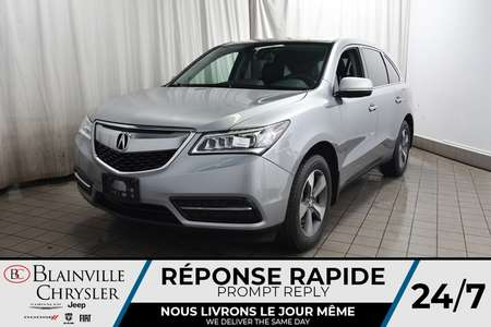 2016 Acura MDX AWD * CAMERA RECUL * BLUETOOTH * for Sale  - BC-P1681  - Blainville Chrysler