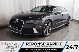 2017 Audi RS 7 Prestige * NAV * TOIT OUVRANT * CARBON FIBER PACK  - BC-S1716  - Desmeules Chrysler