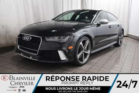 2017 Audi RS 7 Prestige * NAV * TOIT OUVRANT * CARBON FIBER PACK for Sale  - BC-S1716  - Blainville Chrysler