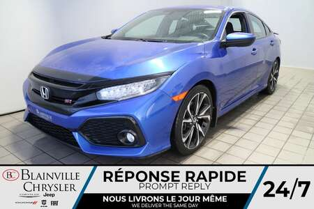 2017 Honda Civic Si * GPS * CAM RECUL * 4 SIEGES CHAUFFANTS * TOIT for Sale  - BC-P1884A  - Blainville Chrysler