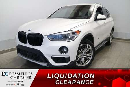 2018 BMW X1 xDrive28i AWD * TOIT OUVRANT * CUIR * CAMERA RECUL for Sale  - DC-S2546  - Desmeules Chrysler