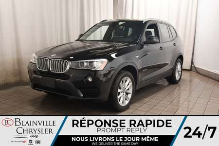 2016 BMW X3 XDRIVE28I * CUIR * CAM RECUL * SIEGES CHAUFFANTS * for Sale  - BC-C1746  - Desmeules Chrysler