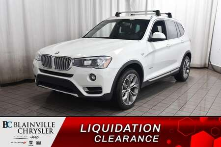2017 BMW X3 XDRIVE28I * CAM RECUL * BLUETOOTH for Sale  - BC-C1766  - Desmeules Chrysler