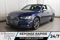 2018 Audi S4 PRESTIGE * NAVIGATION * SIEGES CHAUFFANTS *  - BC-SIM003  - Blainville Chrysler