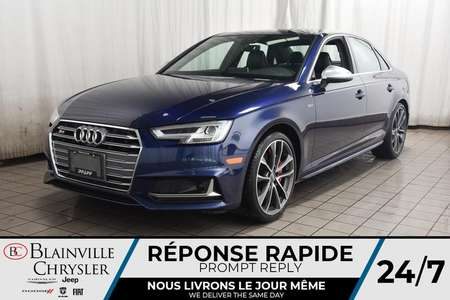 2018 Audi S4 PRESTIGE * NAVIGATION * SIEGES CHAUFFANTS * for Sale  - BC-SIM003  - Desmeules Chrysler