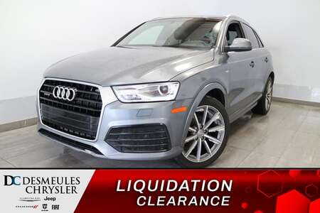 2017 Audi Q3 Premium Plus AWD * NAVIGATION * TOIT OUVRANT * A/C for Sale  - DC-S2235  - Blainville Chrysler