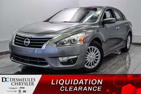 2015 Nissan Altima 2.5 S * A/C * BLUETOOTH * CAM RECUL * for Sale  - DC-S2202  - Blainville Chrysler
