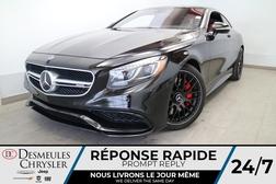 2017 Mercedes-Benz S-Class AMG S 63 4MATIC * NAVIGATION * TOIT PANO * CRUISE  - DC-LUDO022  - Blainville Chrysler