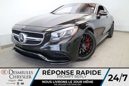 2017 Mercedes-Benz S-Class AMG S 63 4MATIC * NAVIGATION * TOIT PANO * CRUISE for Sale  - DC-LUDO022  - Desmeules Chrysler