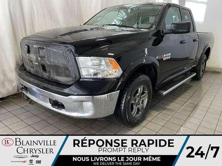 2018 Ram 1500 Quad Cab * APPLE CARPLAY * GPS * CAM RECUL * for Sale  - BC-21360A  - Blainville Chrysler