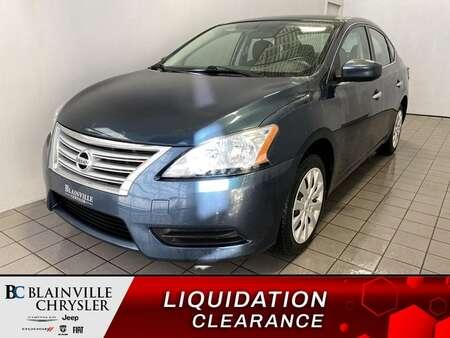 2015 Nissan Sentra * BLUETOOTH * CRUISE * A/C * AUTOMATIQUE for Sale  - BC-P1919A  - Blainville Chrysler