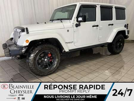 2017 Jeep Wrangler Unlimited * SIEGES CHAUFFANTS * GPS * BLUETOOTH * for Sale  - BC-20546A  - Desmeules Chrysler