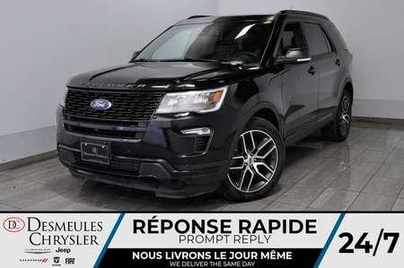 2018 Ford Explorer Sport * Cam Rec * NAV * Toit Ouvr * 163$/Semaine for Sale  - DC-M1462  - Desmeules Chrysler