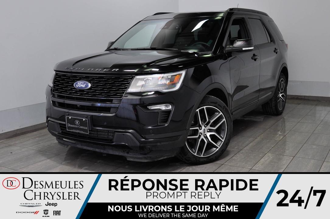 2018 Ford Explorer  - Desmeules Chrysler