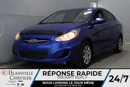 2013 Hyundai Accent GLS * SIEGES CHAUFFANTS * BLUETOOTH * CRUISE * AUX for Sale  - BC-20522B  - Blainville Chrysler