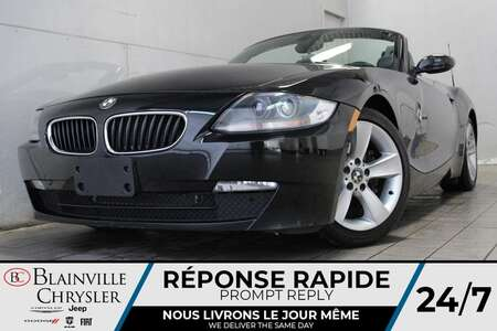 2006 BMW Z4 3.0i * ROADSTER * CUIR CHAUFFANT * NAVIGATION DVD for Sale  - BC-21801A  - Blainville Chrysler