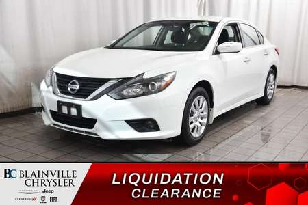 2016 Nissan Altima 2.5 S * A/C * CRUISE * BLUETOOTH * PROPRE * for Sale  - BC-P1598  - Desmeules Chrysler