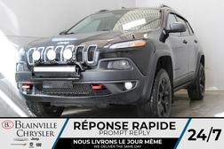 2017 Jeep Cherokee TRAILHAWK * GPS * CUIR/ TISSU * BLUETOOTH * SIRIUS  - BC-21459A  - Blainville Chrysler