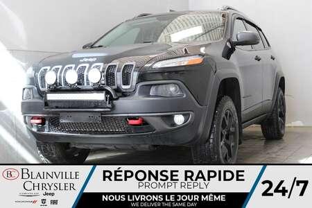 2017 Jeep Cherokee TRAILHAWK * GPS * CUIR/ TISSU * BLUETOOTH * SIRIUS for Sale  - BC-21459A  - Blainville Chrysler